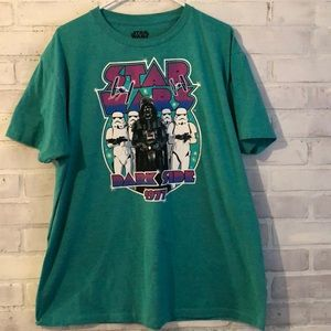 Star Wars Dark Side 1977 t shirt